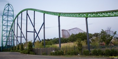 Top 5 Scariest roller coasters